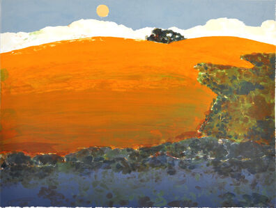 Susan Hall, 'As the Moon Rises', 2012