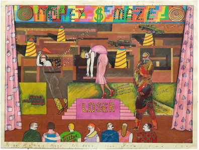 Sue Coe, 'The Money Maze', 1978-1985