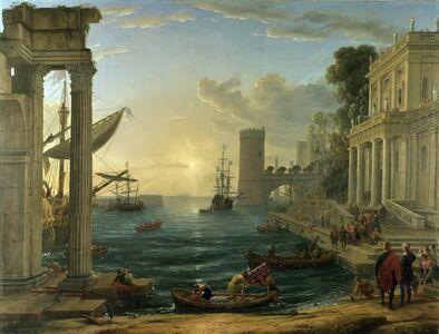 Claude Lorrain, 'Embarkation of the Queen of Sheba', 1648