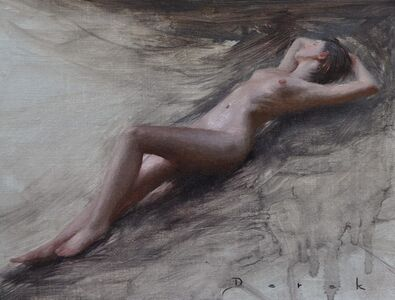 Derek Harrison, 'Oudoor Nude', 2019