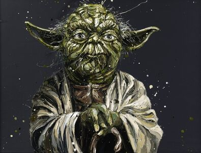 """Paul Oz, '""""Do or do not, there is no try"""" (Yoda)', 2015"""