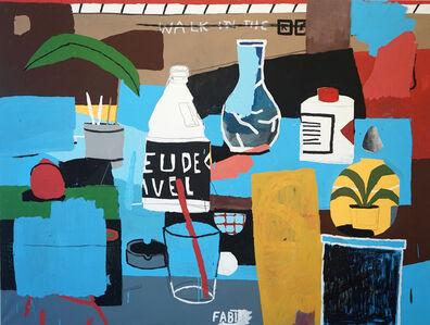 Fabian Warnsing, 'studiotisch', 2020