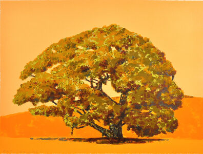Susan Hall, 'Solitary Oak', 2012