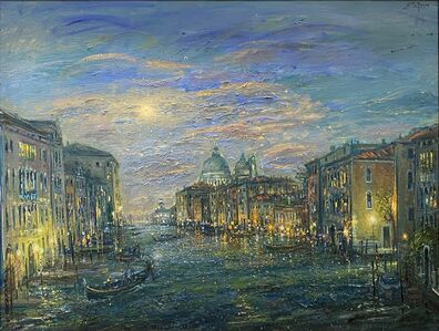 Bruno Zupan, 'Grand Canal, View to Lido', 2017