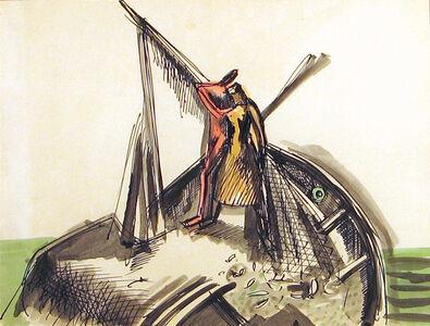 "Theodore Roszak, 'Study for ""Fisherman's Bride""', 1930s"