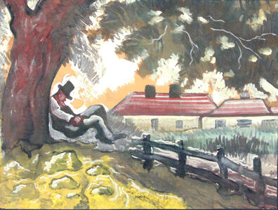 Hugó Scheiber, 'The Rest', 1873-1950