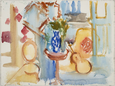 Robert De Niro, Sr, 'Untitled (Interior Still Life with Guitar)', 1984