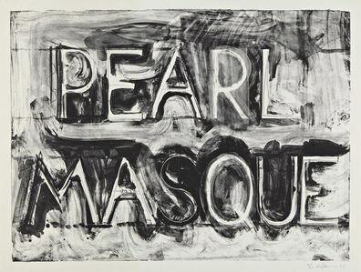 Bruce Nauman, 'Pearl Masque', 1981