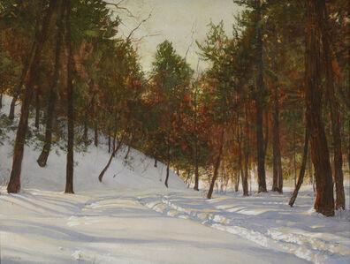 Walter Launt Palmer, 'Bars of Light', 1906