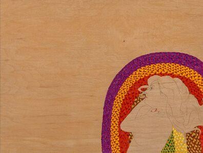 Suzannah Sinclair, 'Woman on Wood'