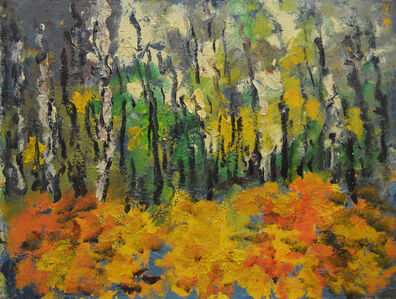 Aron Froimovich Bukh, 'Autumnal forest', 2000