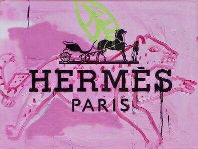Luc Waring, 'Hermes Leopard', 2016