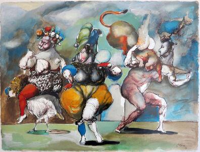 "Emil Kazaz, '""Flying Panther"" / ""Uçan Panter""', 1996"