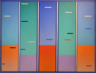 Gregorio Vardánega, 'Aurores chromatiques', 1998