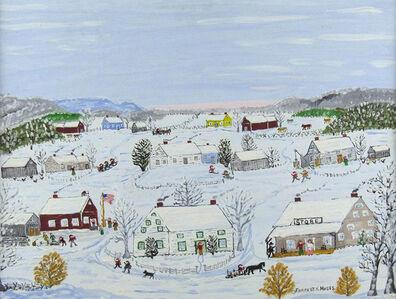 Forrest K. Moses, 'Winter Village', ca. 1960