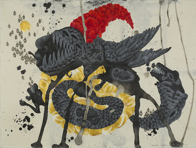Kriangkrai Kongkhanun, 'The Golden Flower, Chapter 3 Snake Swallowing Tail', 2015