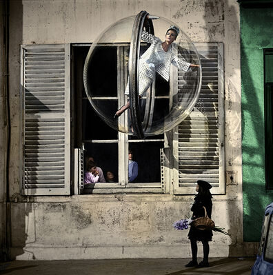 """""""Melvin Sokolsky in Color"""", installation view"""