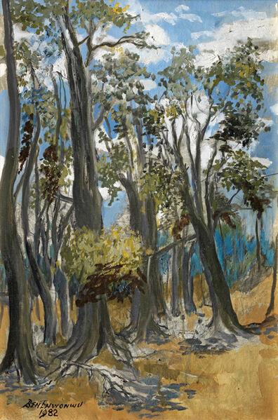 Ben Enwonwu MBE, 'A forest plantation, Zaria', 1982