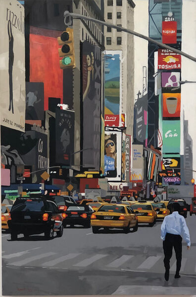 Angie Brooksby, 'NYC Traffic', 2018