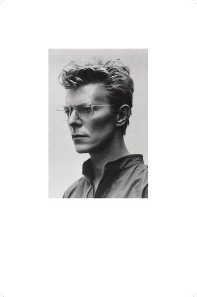 Helmut Newton, 'David Bowie Classic Portrait', 1982