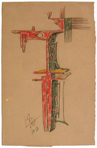 Julio González, 'Sin titulo', 1937