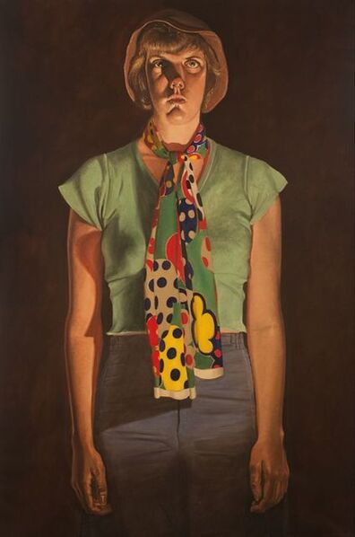 Alfred Leslie, 'Cindy Cresswell', 1976-1977