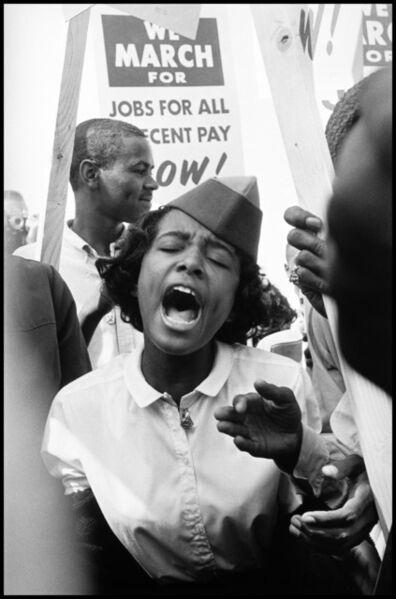 Leonard Freed, 'The March on Washington. Washington, D.C, USA.', 1963