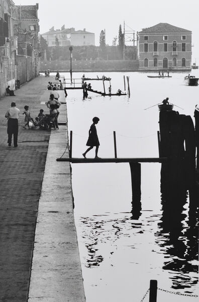 Willy Ronis, 'Venise Fondementa Nueva', 1959