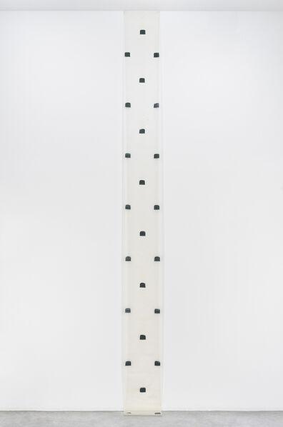 Niele Toroni, 'Empreintes de Pinceau n°50 répétées à intervalles réguliers de 30 cm, Septembre 1978', 1978