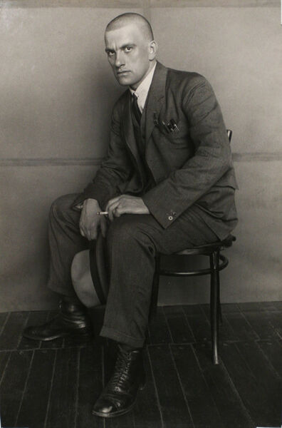 Alexander Rodchenko, 'Poet Vladimir Mayakovsky (On the Chair)', 1924