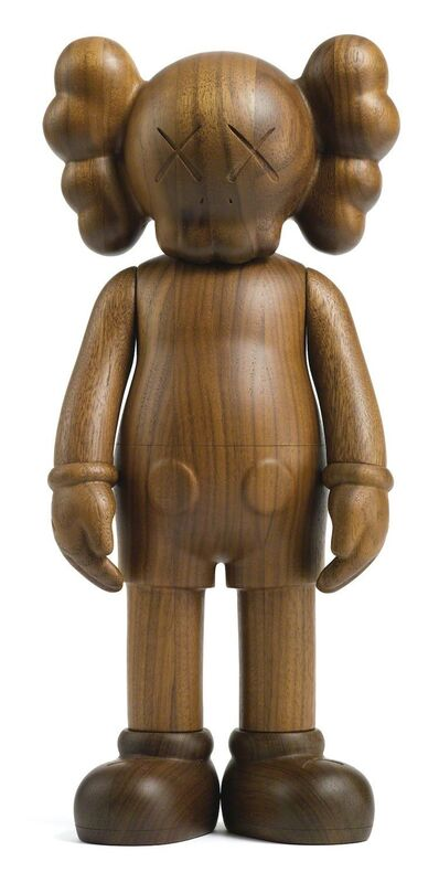 KAWS, 'Companion Karimoku Version', 2011, Sculpture, Karimoku Wood; Signed and numbered in ink on the underside of the feet, Pop Fine Art