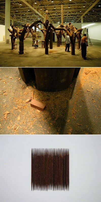 Zhao Zhao, 'Toothpick', 2007, Photography, C-print, Leo Xu Projects