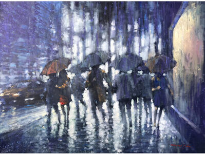 David Hinchliffe, 'Umbrella Weather', 2019