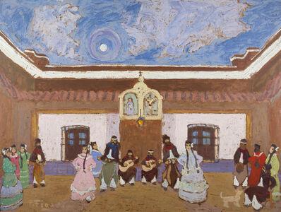 """Pedro Figari, '""""Baile en el patio""""', ca. 1931"""