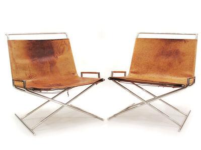 Ward Bennett, 'Sled Chairs', ca. 1968