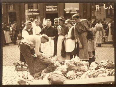Léonard Misonne, 'At the Market', 1920s / 1930s