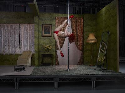 Julia Fullerton-Batten, 'Sasha Flexy, Pole Dancer', 2016