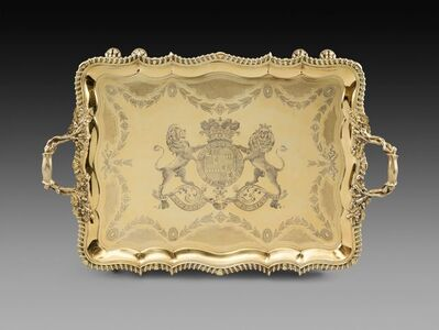 Philip Rundell, 'An Important George IV Tray', 1823