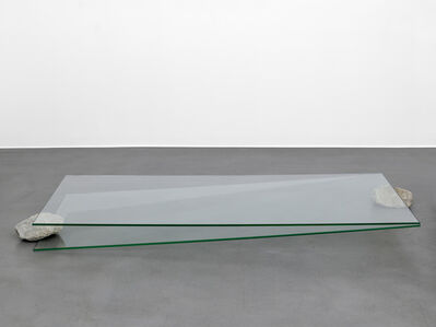 Keiji Uematsu, 'Situation - glass and stone', 2016