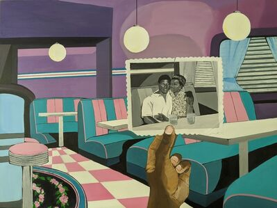 Blitz Bazawule, 'A Moment in Time/Diner', 2020