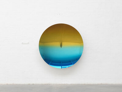 Anish Kapoor, 'Mirror (Spanish Gold to Mipa Blue 5)', 2018