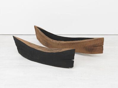 David Nash, 'Vessel and Volume: Charred Cut', 1987-1991