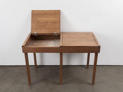Robert Kinmont, 'school desk  ', 2014