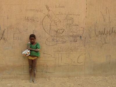 Mohamed Camara, 'Souvenirs, Ce mur m'intrigue.', 2007