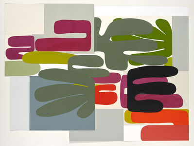 Louise Belcourt, 'Forest Paper Large #3', 2020