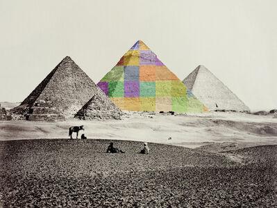 Bill Armstrong, 'After Francis Frith Pyramid', 2016