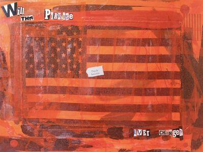 "Ligel Lambert, 'Work # 1, ""This. Is. America.""', 2020"
