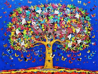 Jean-Francois Larrieu, 'Tree of Life Blue Sky', 2019