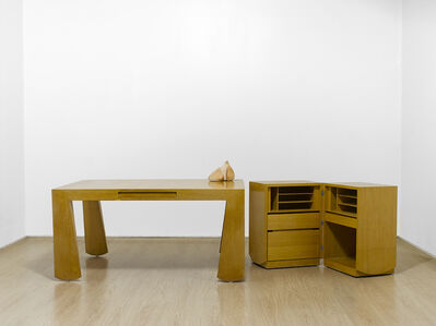 Martin Szekely, 'Desk and its small secretaire', 1987