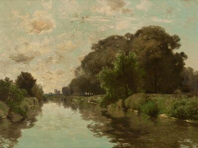 Charles Harry  Eaton, 'Reflections', ca. 1910
